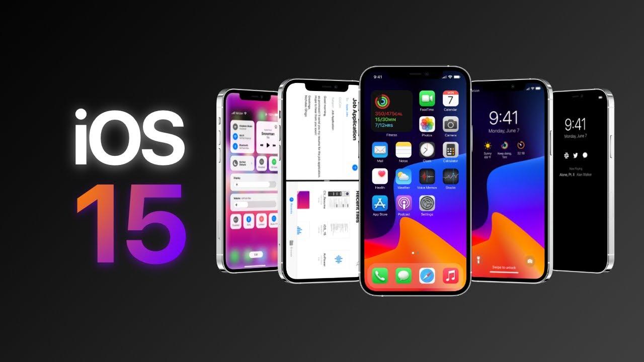 ios 15 của điện thoại Iphone